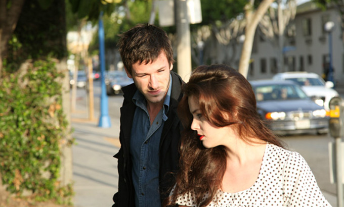 Roxane Mesquida and Gaspard Ulliel in Hold On